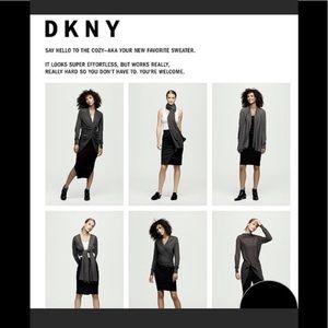 THE DKNY COZY VERSATILE SWEATER